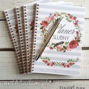 zaproszenia planer ślubny, notes notatnik panny młodej, ślub, wesele