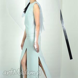 NIMRODEL - suknia, wizytowa, koktailowa, długa, unikatowa, pastelowa