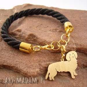 hand-made bransoletki bransoletka alpejski gończy pies nr. 32