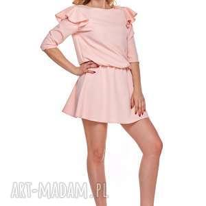 """""""mama i córka"""" sukienka odcinana w pasie dla mamy lm8 3 sukienki"""