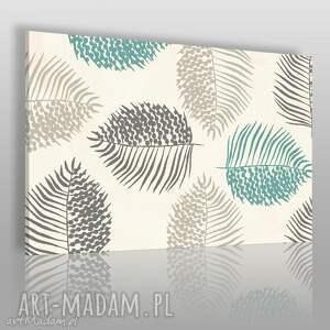 obraz na płótnie - natura liście 120x80 cm 39901, liście, natura, rośliny, spokojny