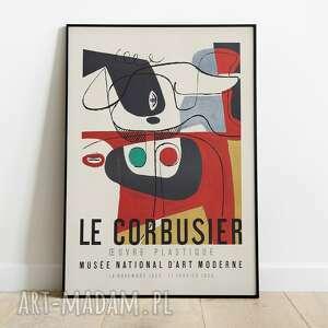 le corbusier, plakat wystawowy 50x70, wystawowy