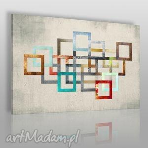 obraz na płótnie - łańcuch kolory 120x80 cm 26501, łańcuch, kolory, abstrakcja