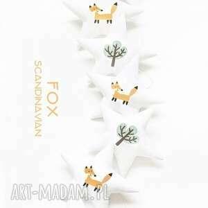 handmade pokoik dziecka fox - girlanda lisek