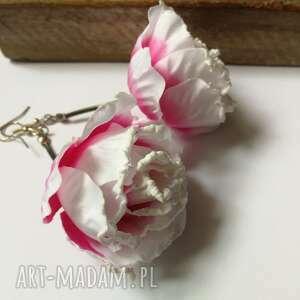 Kolczyki kwiaty lekkie box x1-polecam ruda klara kolczyki