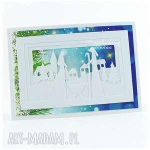 ręcznie zrobione pomysł na święta upominki boże narodzenie - kartka