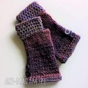 Rękawiczki mitenki the wool art rękawiczki, mitenki, wełniane,