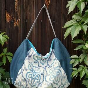 happyart worek na ramię - ornamentowy, torba, codzienna, miejska, prezent