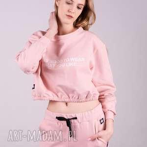 Bluzka sportowa CROOP-Róż, bluzki, kurtki, sukienki, bluzy, spodnie,