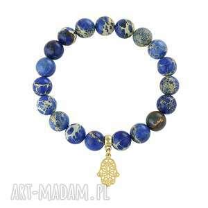 lavoga caesar - riverside jasper 2, jaspis, cesarki, fatima, rączka biżuteria