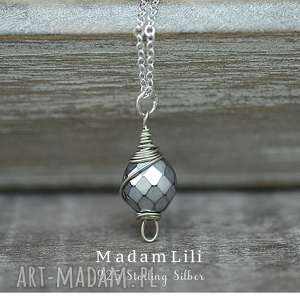 Prezent 925 srebrne kolczyki ♥ GRENLANIA Naszyjnik, zima, lato, prezent, srebro