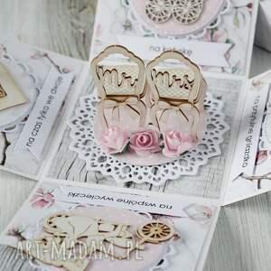 pudełko - kartka prezent na ślub wesele, kartka, ślub, box