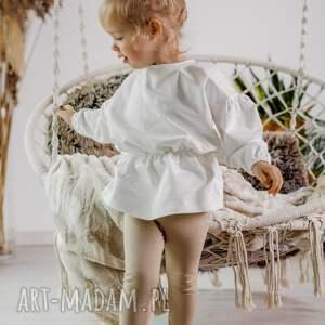 handmade komplet z tuniką - ecrie