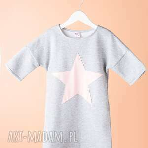 Tunika DT09M, wygdna, modna, stylowa, gwiazda