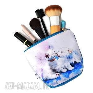 Kosmetyczka kotek i piesek, wodoodporna kot i mała