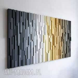 hand-made dekoracje mozaika drewniana, obraz drewniany 3d pr na zamówienie