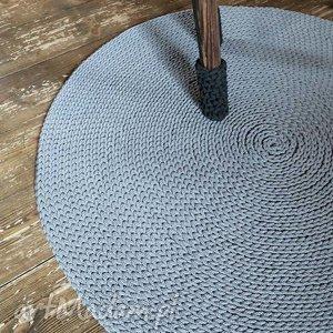 dywany dywan okrągły ze sznurka 140 cm, rękodzieło, ręcznie, na-szydełku, chodnik
