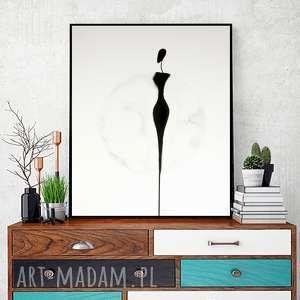 plakaty grafika 40x50 cm wykonana ręcznie, plakat, abstrakcja, elegancki minimalizm