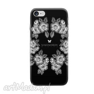 handmade etui etui na telefon - patria - black and white