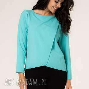 bluzki bluzka agata 5, elegancka, asymetryczna, modna, asymetria, casual