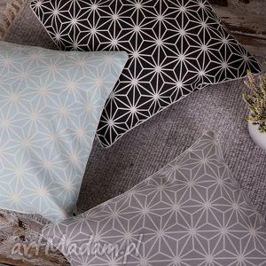 hand-made poduszki poszewka na poduszkę diamenty - 3 kolory