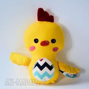 kurczak mały michaś, kurczak, maskotka, przytulanka, dziecko, wielkanoc, farma