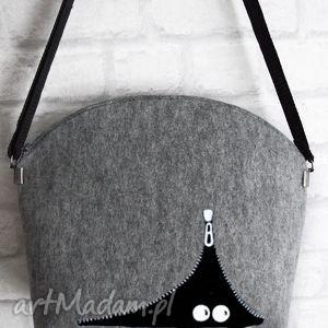 wyjątkowe prezenty, filcowa torebka a kuku, filc, filcowa, torba
