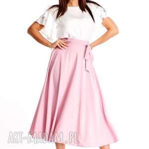 spódnica długa rozkloszowana grace 033, modna spódnica, retro
