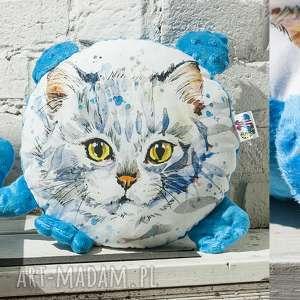 przytulanka- kotek, poduszka, maskotka, kot, prezent, minky, bawełna dla dziecka