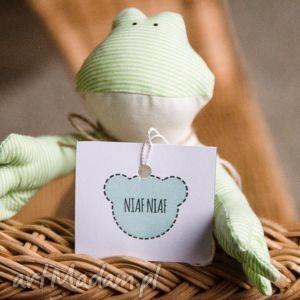 Edmund - żaba idealny przytulak maskotki niafniaf żaba