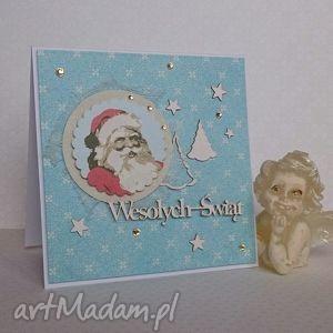 kartka świąteczna - zimowy poranek 4 bluebell chandlery - święta
