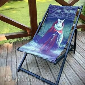 leżak drewniany rabbit king, leżak, drewniany, fotel, krzesło, królik