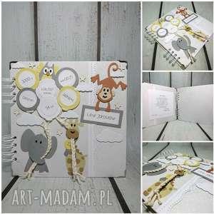 handmade scrapbooking albumy album idziemy do zoo