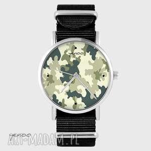 zegarek - moro czarny, nato, zegarek, bransoletka, moro, unikatowy