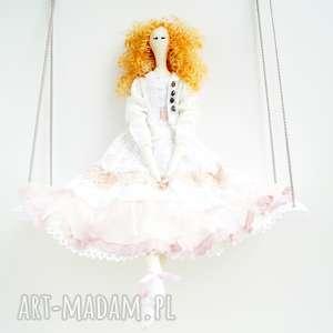 lalka tilda - skandynawski, dziewczynka anioł
