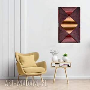 obraz z drewna, dekoracja ścienna /95- aurella/, dekoracja, ścienna, drewniana