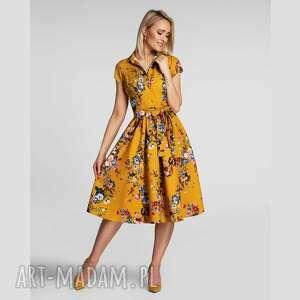 Sukienka sabina midi patricia sukienki livia clue wiosenna