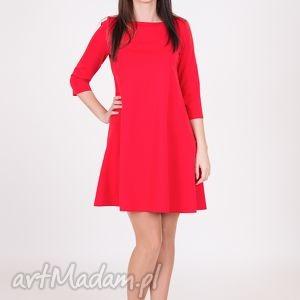 sukienki 7 - sukienka czerwona