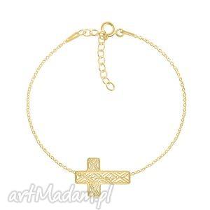 celebrate - cross - bracelet g - ,krzyż,celebrate,