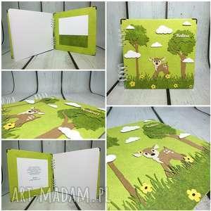 oryginalny prezent, the scraper bambi, narodziny, urodziny, chrzest, las, sarenka