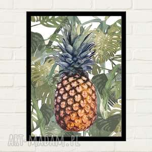 hand-made plakaty pineapple jungle plakat 30x40