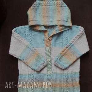 sweterek wełniana fantazja, rękodzieło, sweterek, wełniany, rozpinany