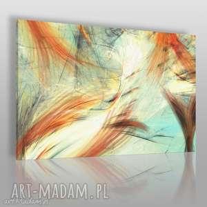 obraz na płótnie - ryba ogon abstrakcja 120x80 cm 70001, ogon, ryba
