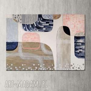 Obraz ręcznie malowany na płótnie - abstrakcja creo obraz, akryl