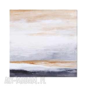 Still air, abstrakcja, nowoczesny obraz ręcznie malowany,