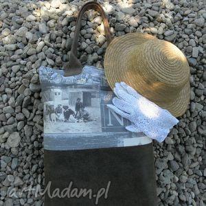torba secesja shopper bag, torba, nadruk, moda, lato, torebka, secesja