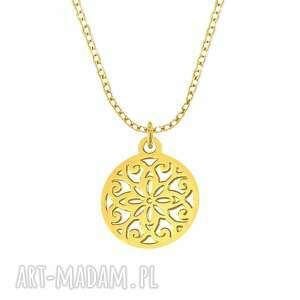 naszyjniki celebrate - circle necklace g, celebrytka, koło