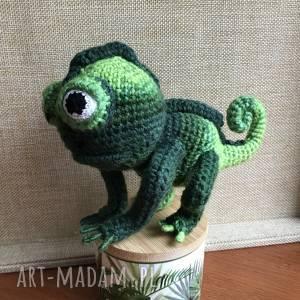 handmade zabawki wyprzedaż! Śliczny kameleon