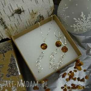 Prezent! Komplet biżuterii bursztynowej pod choinkę barbara