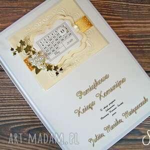 scrapbooking albumy księga gości, pamiątka komunii, komunia, długopis gratis
